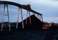 Przenośnik taśmowy w kopalni